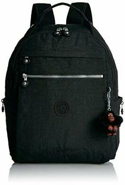 Kipling Micah Medium Backpack with Trolley Sleeve - Black