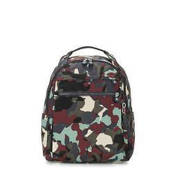 "Kipling Micah Large Printed 15"" Laptop Backpack Camo L"