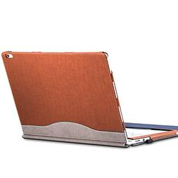 Microsoft Surface Book 2  Sleeve Case, Synthetic Leather Det