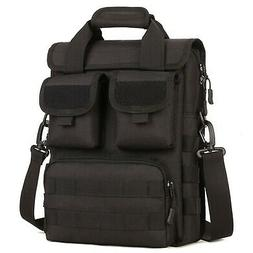 DYJ Military MOLLE Tactical Field Laptop Briefcase Gear Mess