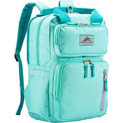 mindie backpack nwt aquamarine turquoise lilac laptop