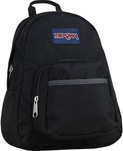Jansport Mini Half Pint Backpack Bag Black Color