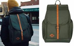 """JuneHouse MM laptop backpack Fit Up to 15"""" Laptop Navy Blue"""