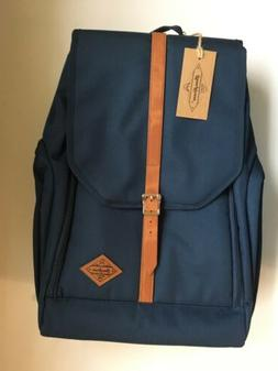 "JuneHouse MM Laptop Backpack, Fits Up to 15"" Laptop, Navy Bl"