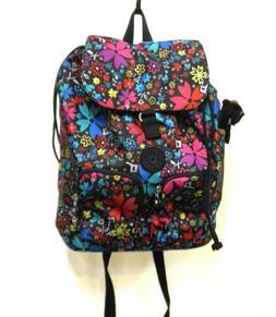 Kipling Mod Floral Large Backpack w/ Laptop Sleeve BP3986 NW