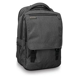 modern utility paracycle backpack laptop charcoal heather