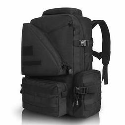MOLLE Tactical Assault Backpack 45L Waterproof Rucksack with