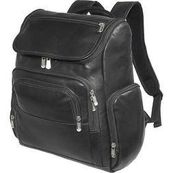 Multi-Pocket Laptop Backpack - Black