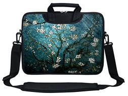 Meffort Inc Neoprene Laptop Shoulder Briefcase Bag Carry Cas