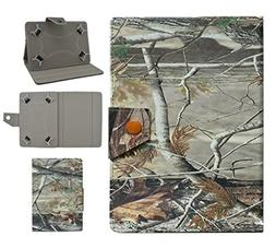 "Tsmine NeuTab X7 7"" Tablet Flip Camo Case - Universal Protec"