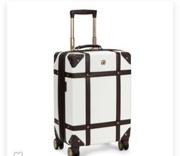 """NEW Swissgear 19"""" Trunk Hardside Carry On Suitcase - Color:"""