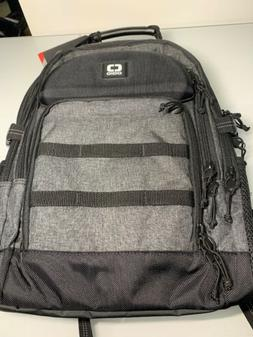 NEW Ogio Alpha Prospect Backpack Grey and Black Great Protec
