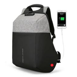 new anti thief usb recharging laptop backpack