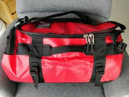 NEW The North Face Base Camp Duffel 50L TNF Red Black Small
