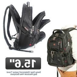 new black swiss gear waterproof laptop travel