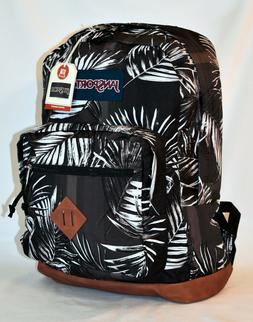 new city view laptop backpack tonal palms