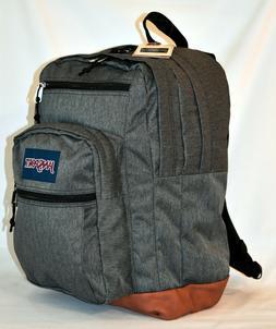 New JanSport Cool Student Laptop Backpack -- Black White Her