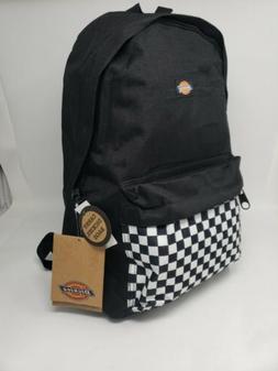 New Dickies Double Strap Laptop Sleeve School Backpack. Blac