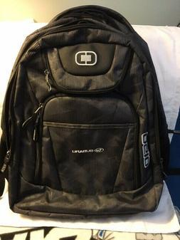 new excelsior backpack black subaru logo laptop