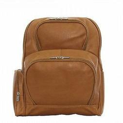 NEW Piel Leather Half-Moon Laptop Backpack, Black FREE2DAYSH