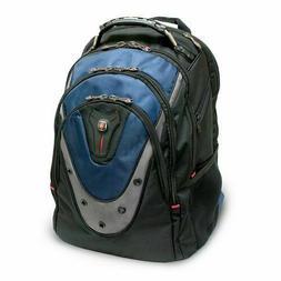 NEW Swissgear Ibex 17-inch Laptop Backpack Black/Blue GA-731