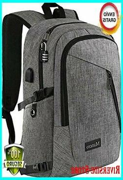 NEW Laptop Backpack Business Anti Theft USB Port Included 17