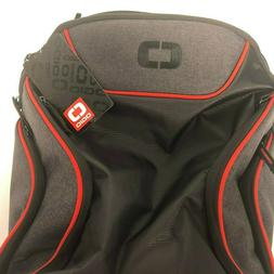 NEW OGIO LG ThinQ G8 Limited Laptop Backpack Black Gray Red