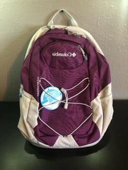 "NEW Columbia Northport Backpack With 15"" Laptop Pocket, Purp"