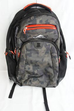 "NEW High Sierra Riprap Lifestyle 20"" Backpack Camo / Black H"