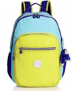 5453e302684 New - Kipling Seoul Go 15 Inch Laptop Large Backpack - Multi