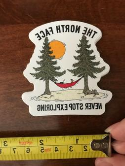 New The North Face Sticker - Never Stop Exploring