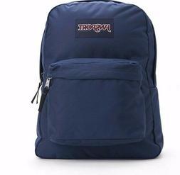 NEW JanSport Superbreak Navy Blue  Backpacks -  100% Authent