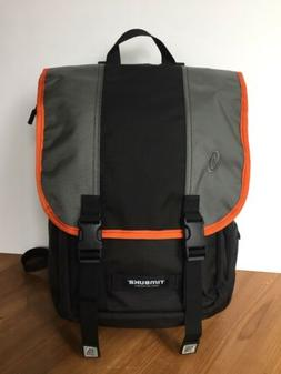New Timbuk2 Swig Laptop Backpack Black Orange Gray Made in S