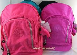 New with Tag Kipling Hiker, Hal Expandable Backpack with Fur