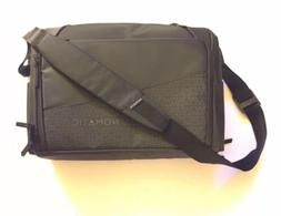 Nomatic Laptop Leather Travel Bag Black/ Dark Grey Brand New