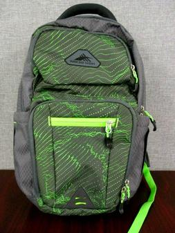 nwot 22l everyday backpack gray lime green