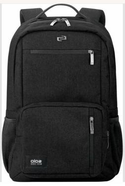 NWOT SOLO Downtown Collection Bowery Laptop Backpack Black