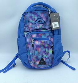 """NWT High Sierra 22L Everyday Backpack - Blue - Holds 15"""" Lap"""