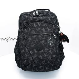 NWT Kipling BP4372 Seoul XL Backpack Laptop Travel Book Bag