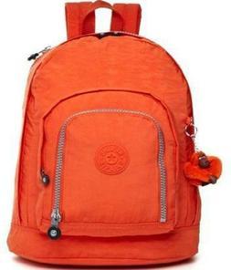 NWT Kipling Hiker Large Expandable Backpack ORANGE