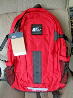 NWT The North Face Hot Shot Backpack Large Red / Black Speci
