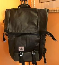 NWT Levis Laptop Backpack Case Bag Travel Black Lightweight