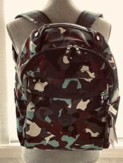 "NWT Kipling Micah 15"" Laptop Backpack Camo L  $134"