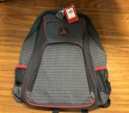 NWT NIKE AIR JORDAN Jumpman Backpack Black Gray Red LAPTOP S