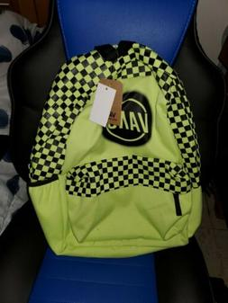 NWT Vans Realm Classic Backpack School Laptop Bag Checkerboa