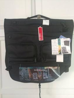 "NWT Swiss Gear Getaway 22"" Black Carry-On Tri-Fold Garment B"