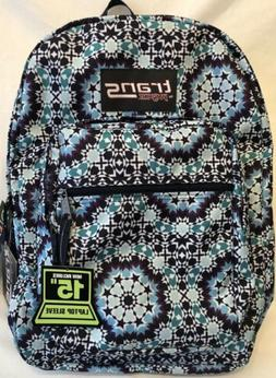 """NWT! Trans By JanSport® SuperMax Backpack - Navy Blue 15"""""""
