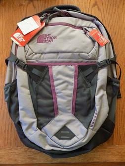"""NWT Women's  The North Face Recon Backpack  15"""" Laptop Bag Q"""