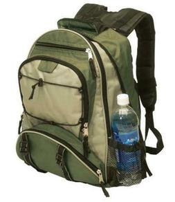 nylon backpack day pack school padded book