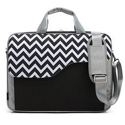 CoolBELL 17.3 Inch Nylon Laptop Bag Shoulder Bag With Strap
